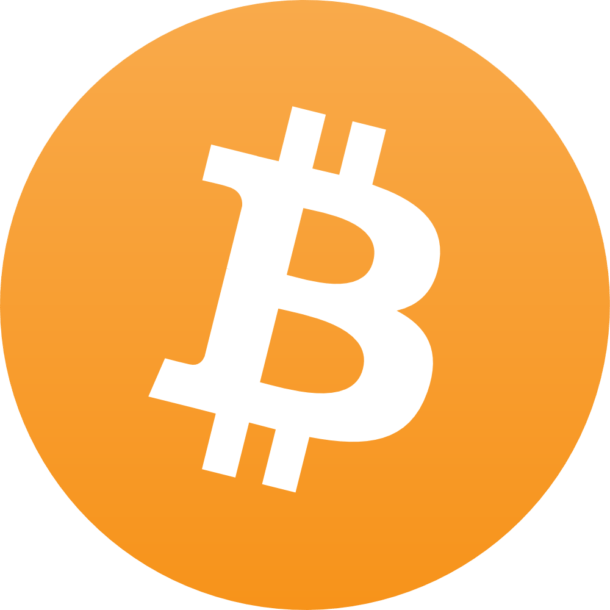 Bitcoin logo clear backgroun